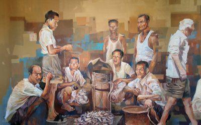 壁画 – 土产交易